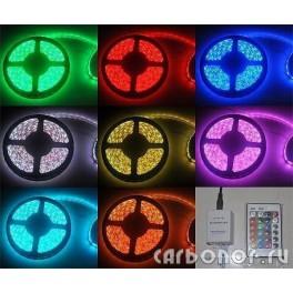 Светодиодная RGB лента с пультом.